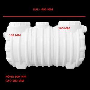 Bể tách mỡ nhựa 355 lít