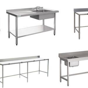 Các loại bàn bếp inox 201