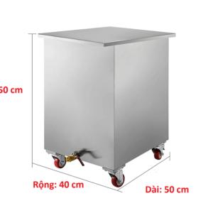 thùng chứa dầu đã qua sử dụng 100 lít