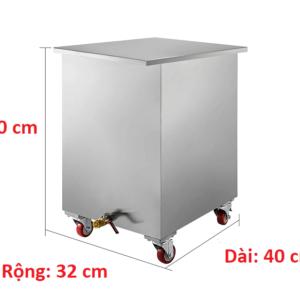 thùng chứa dầu đã qua sử dụng inox 50 lít
