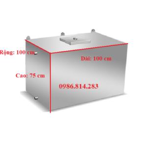 bể nước inox 750 lít