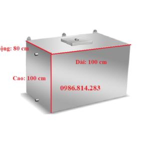bể nước inox 800 lít