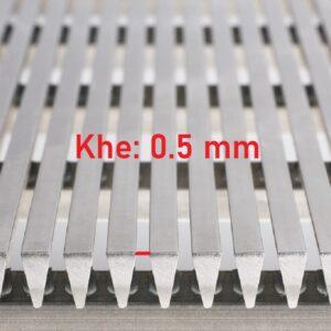 lưới inox khe 0.5 mm