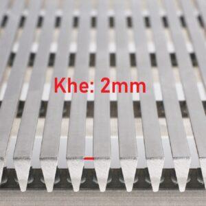 lưới inox khe 2 mm