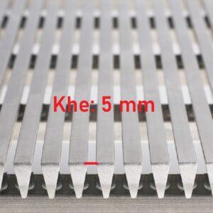 Lưới inox khe 5 mm